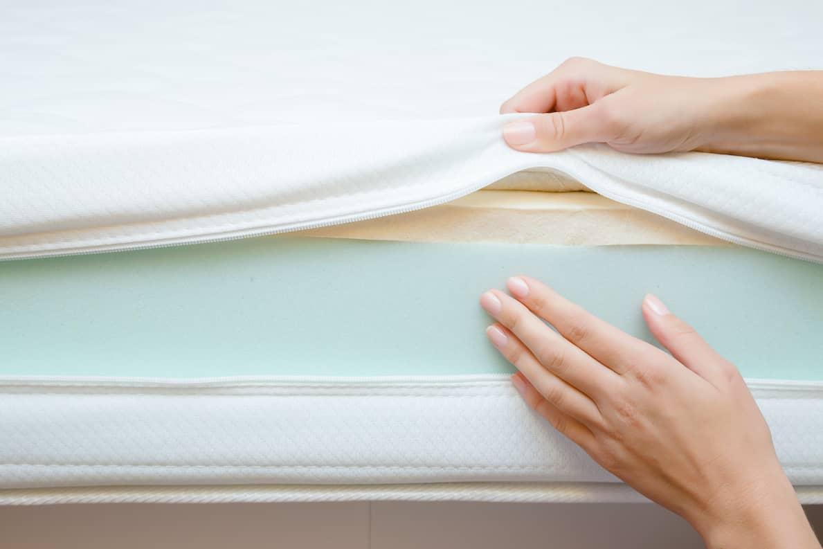 inside of mattress