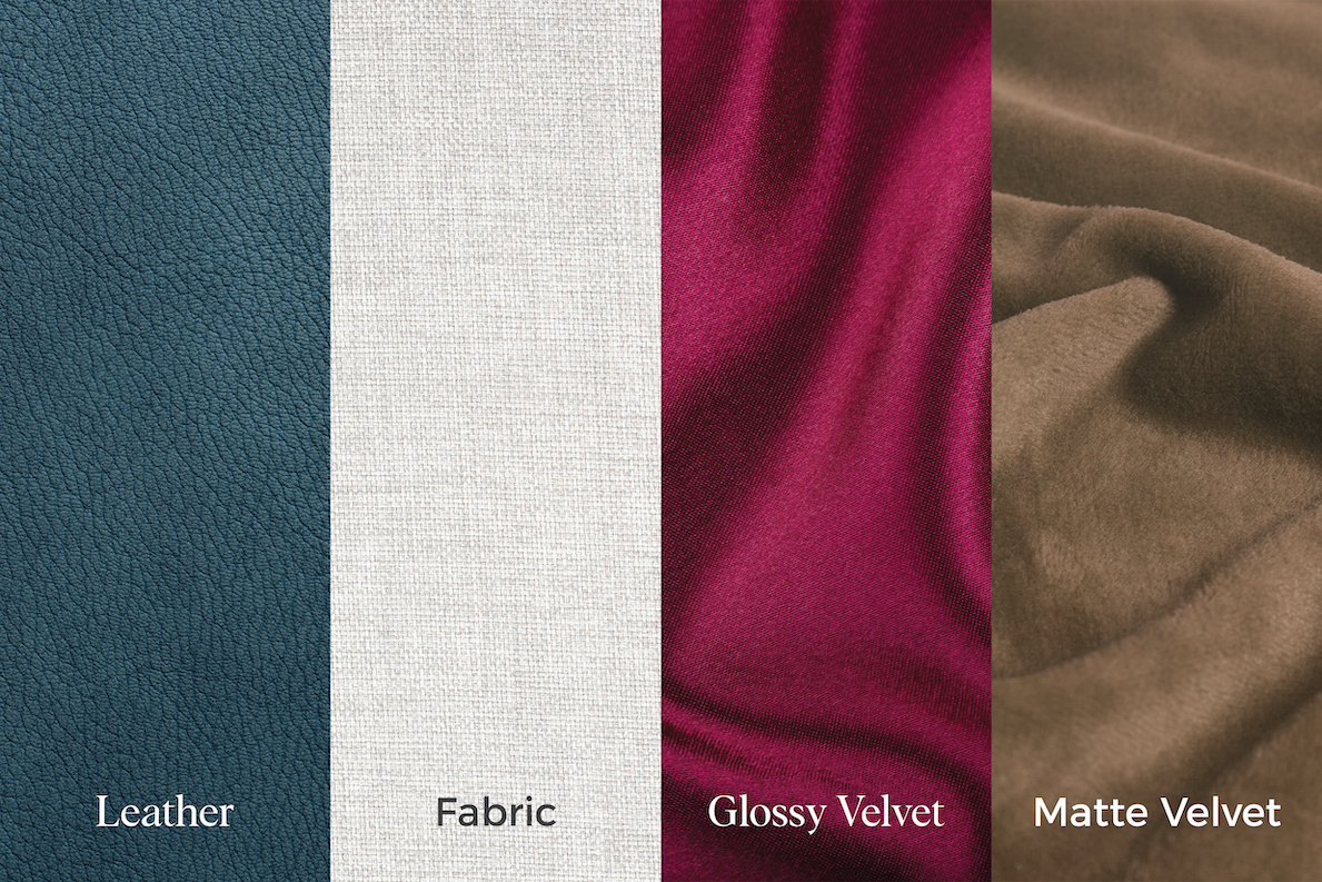 Colours & Upholstery for our Storage Beds